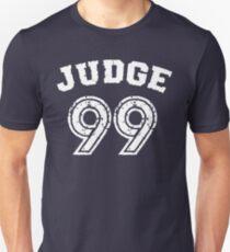 Camiseta ajustada Juez 99, viene el día del juicio final Camisa Azul Marino Béisbol de Nueva York - ¡Soy un gran fanático!
