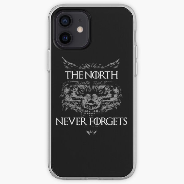 The North Never Forgets iPhone Soft Case