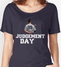 Judgement Day Shirt , Judge 99  is coming Shirt New york Baseball - I'm a Big Fan !  Women's Relaxed Fit T-Shirt