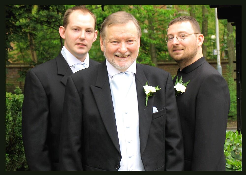 Three main men by BizziLizzy