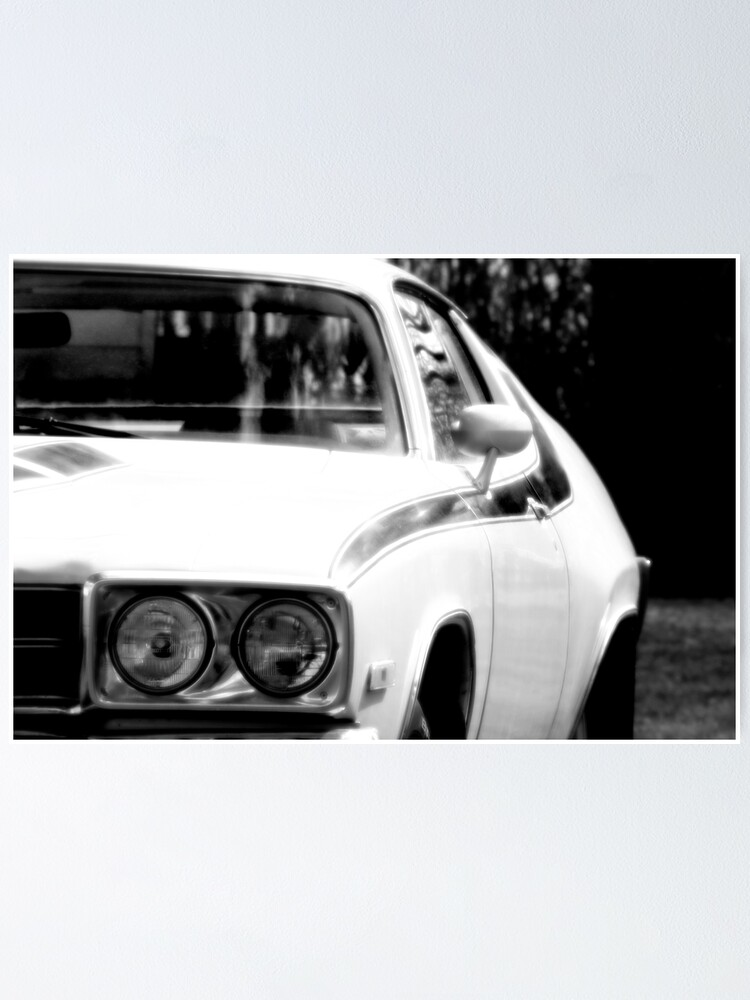 Wall Art Car Poster 1973 Plymouth Road Runner Muscle Car Photo Car Print
