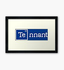 Tennant, the 10th Element Framed Print
