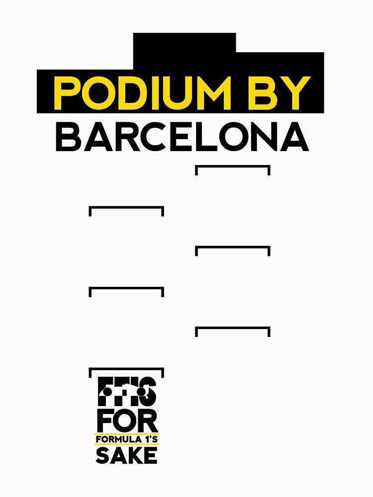 FF1S: Podium By Barcelona by podmerch