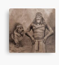 An Audience With The Hapless Metal Print