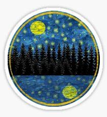 Evening Reflections Sticker
