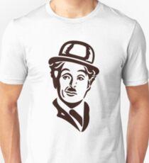 charlie chaplin face T-Shirt