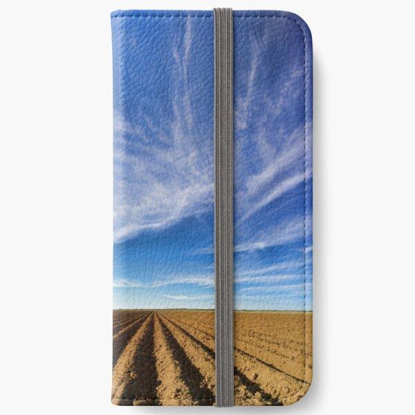 Oh Dem Cotton Fields iPhone Wallet