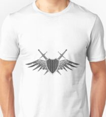 Shield with swords emblem  T-Shirt