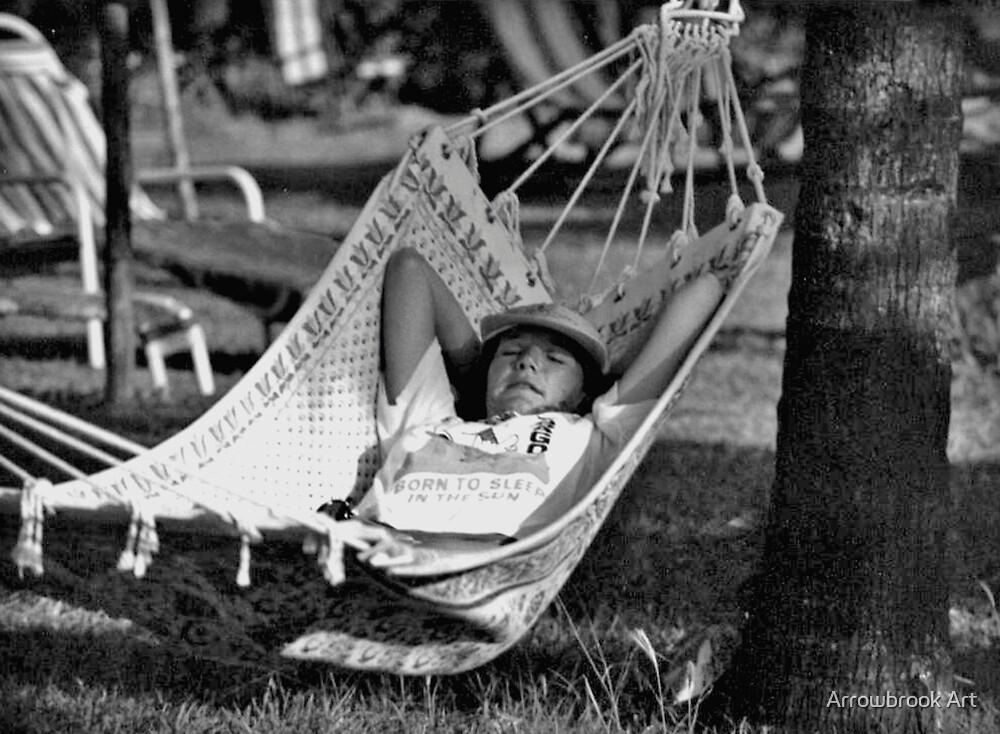Born to sleep in the sun by John Brotheridge