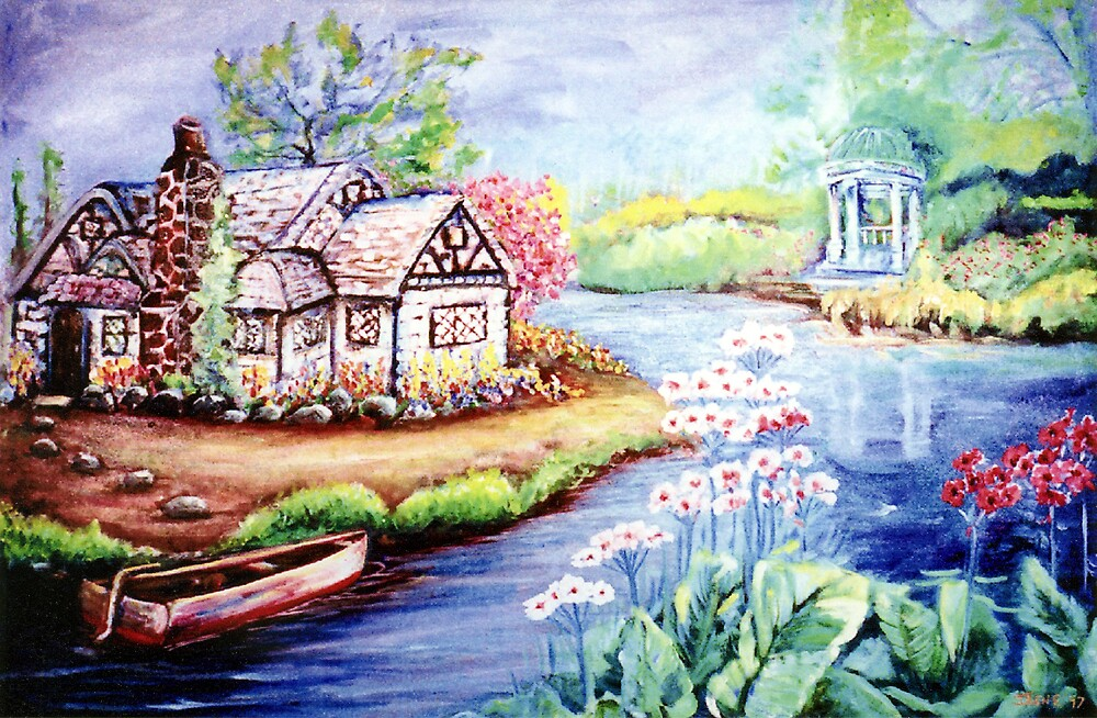 RIVER COTTAGE by IRENE NOWICKI