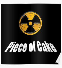 Duke Nukem -  Piece of Cake quote Poster
