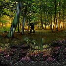Enchanted Forest - romantic meeting by the cabbage patch by © Kira Bodensted