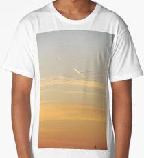 LANDSCAPE SKY SUNSET PHOTOGRAPHY Long T-Shirt