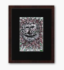 1912 - An Old Earth Father Smiling Amused Framed Print