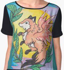 Foxy Night Women's Chiffon Top