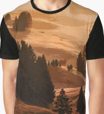The Hills of Italy - Tuscany Graphic T-Shirt