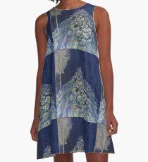Roatan Anemones A-Line Dress