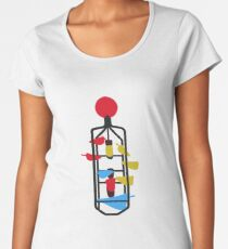 Bucket Fountain (Cuba Mall, Wellington) Women's Premium T-Shirt