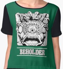 Beholder : Inspired by Dungeons & Dragons Women's Chiffon Top