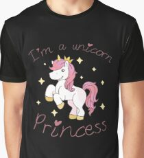 Unicorn Toddler ,I'm a Unicorn Princess Graphic T-Shirt