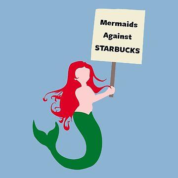Meerjungfrauen gegen Starbucks von jezkemp