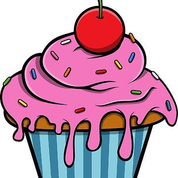 Pink Cupcake by zaknafien