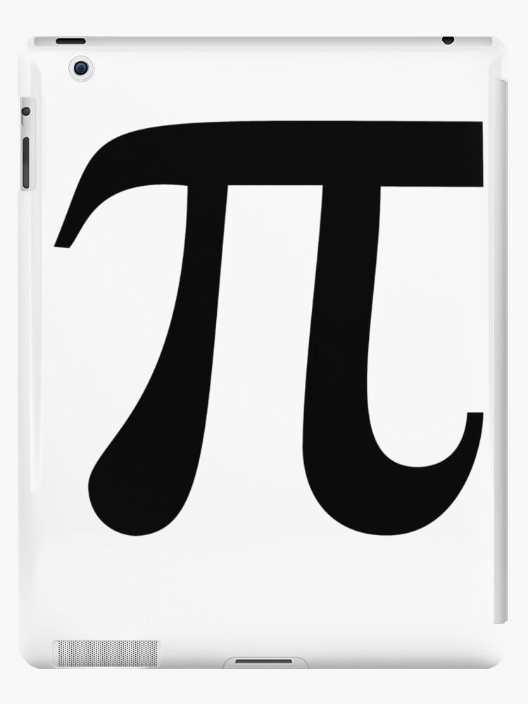 Pi Greek Letter 314 Circle Fraternity Sorority Math Ipad Cases
