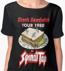 Spinal Tap - Shark Sandwich Tour 1980 Women's Chiffon Top