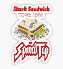 Spinal Tap - Shark Sandwich Tour 1980 Sticker