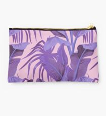 Tropical '17 - Starling [Banana Leaves] Studio Pouch