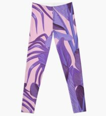 Tropical '17 - Starling [Banana Leaves] Leggings