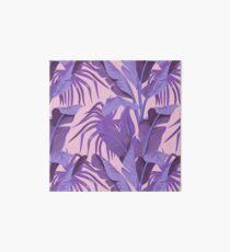 Tropical '17 - Starling [Banana Leaves] Art Board