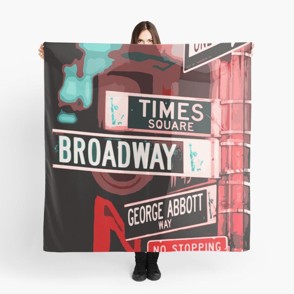 Broadway-Straße - New York City Tuch