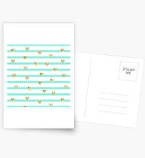 Mint heart  Postcards