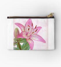 Asiatic Lily Trogon Studio Pouch