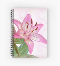 Asiatic Lily Trogon Spiral Notebook