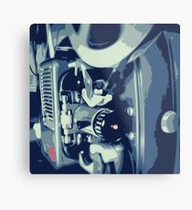 Graphic Bolex 8mm Film Projector Metal Print