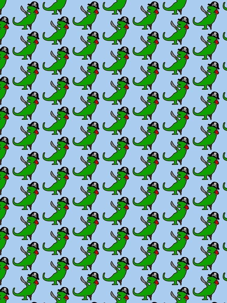 Dinosaurio Pirata - T-Rex de jezkemp