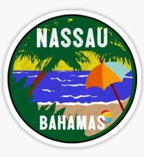 NASSAU BAHAMAS BEACH DIVING SNORKELING OCEAN CARIBBEAN SEA OCEAN LUGGAGE LAPTOP Sticker