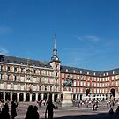 Plaza Mayor, Madrid by Tom Gomez