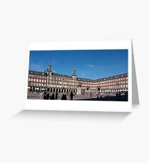 Plaza Mayor, Madrid Greeting Card