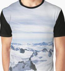 Alps Mountain Range Graphic T-Shirt