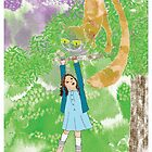 Alice and the Cheshire Cat by Sally Barnett