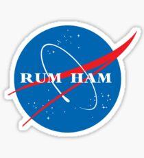 Rum Ham Nasa Sticker