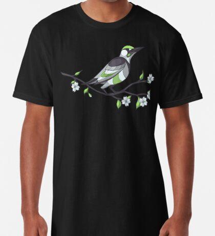 Pride Birds - Agender Long T-Shirt