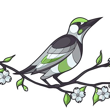 Pride Birds - Agender by wanderingkotka