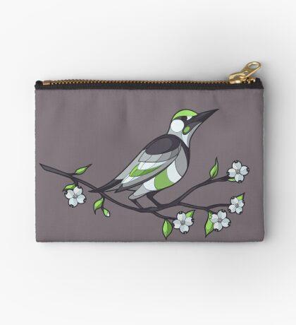 Pride Birds - Agender Zipper Pouch