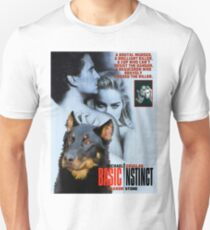 Beauceron Art Canvas Print - Basic Instinct Movie Poster T-Shirt