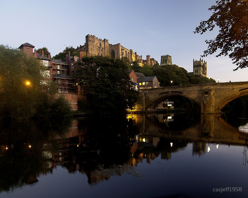 Durham Cathedral & Castle by cazjeff1958