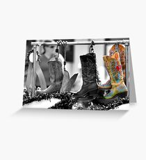 Cowgirl Couture II Greeting Card
